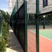 """Ограждение для теннисного клуба """"Tennisparkarena"""""""