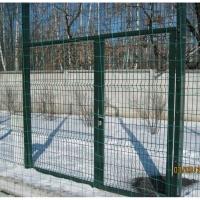 Ворота распашные для спортплощадки