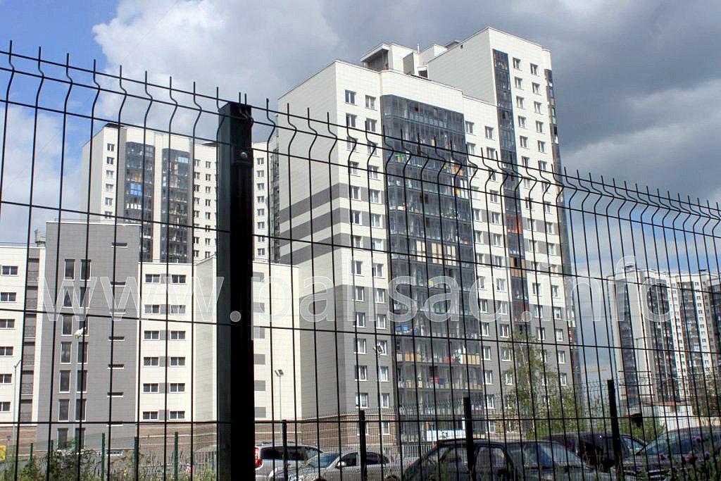 Ограждение многоэтажного строительства