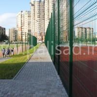 Ограждение 3D-Sport на спортивной площадке ХК «СКА»