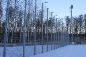 Ограждение спортивной площадки в ФК ЗЕНИТ